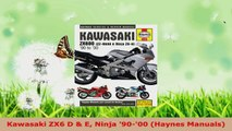 Read  Kawasaki ZX6 D  E Ninja 9000 Haynes Manuals EBooks Online