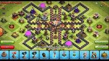 Clash of Clans Town Hall 8 War Base Defense Layout Design ♦ CoC TH8 War - Hybrid - Trophy Base Setup