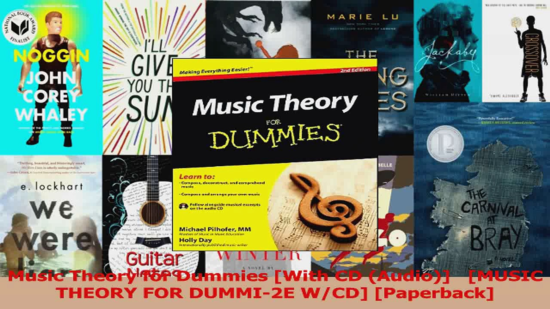 PDF Download  Music Theory for Dummies With CD Audio   MUSIC THEORY FOR DUMMI2E WCD Paperback Downlo