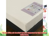 Happy Beds StressFree 8inch Memory Foam 8000 Orthopaedic Firm Mattress with Removable zip cover