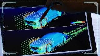 Mercedes Benz IAA aerodynamic Concept Car Trailer