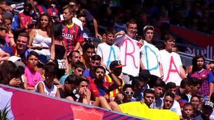 Turan and Vidal set for debuts as Barca transfer ban ends