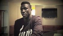 Interview de Yaya Sané à l'hôtel Escale Océania