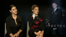 Monica Bellucci and Lea Seydoux Interview SPECTRE (2015) 007 HD