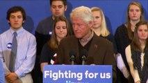 Bill Clinton in campo per Hillary: è la più qualificata