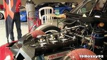 Alfa Romeo 2.5L V6 Engine Warm Up Fuel Injectors & ITBs View