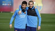FC Barcelona training session: Session before the derby
