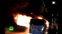 L'incendie criminel d'un bus fait au moins 14 morts dans le nord de la Chine