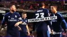 La prise de bec entre Cristiano Ronaldo et Sergio Ramos lors de Valence - Real Madrid