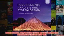 Requirements Analysis and System Design Developing Information Systems with UML