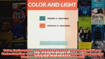 Color Environment and Human Response An Interdisciplinary Understanding of Color and Its
