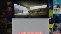A History of Interior Design