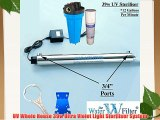 39w Whole House 12gpm UV Ultra Violet Light Water Filter Sterliser System Removes Bacteria