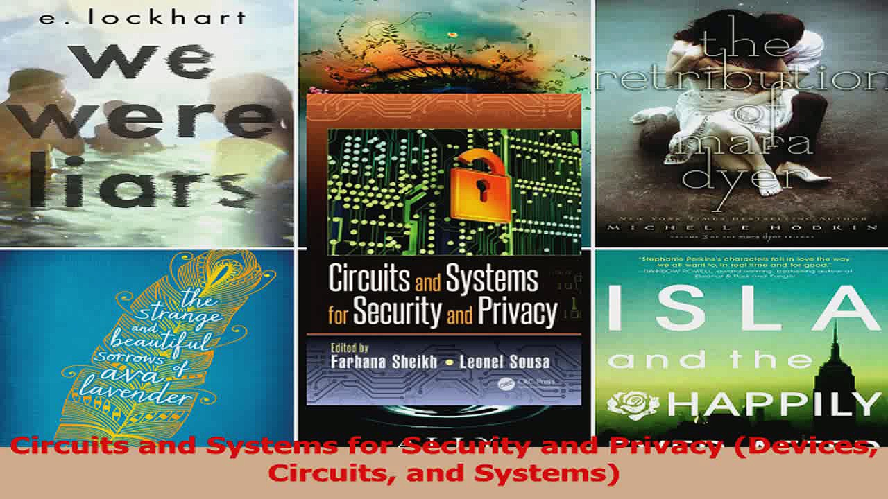 PDF Download  Circuits and Systems for Security and Privacy Devices Circuits and Systems PDF Full Ebook