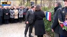 Trois plaques dévoilées à Paris en mémoire des victimes des attentats de janvier
