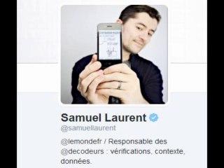 Samuel Laurent, journaliste au Monde, affabule sur le 11/9