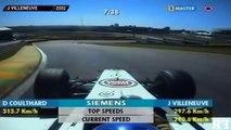 25 ans de course F1 sur le circuit d'Interlagos.
