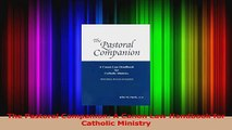 PDF Download  The Pastoral Companion A Canon Law Handbook for Catholic Ministry PDF Full Ebook