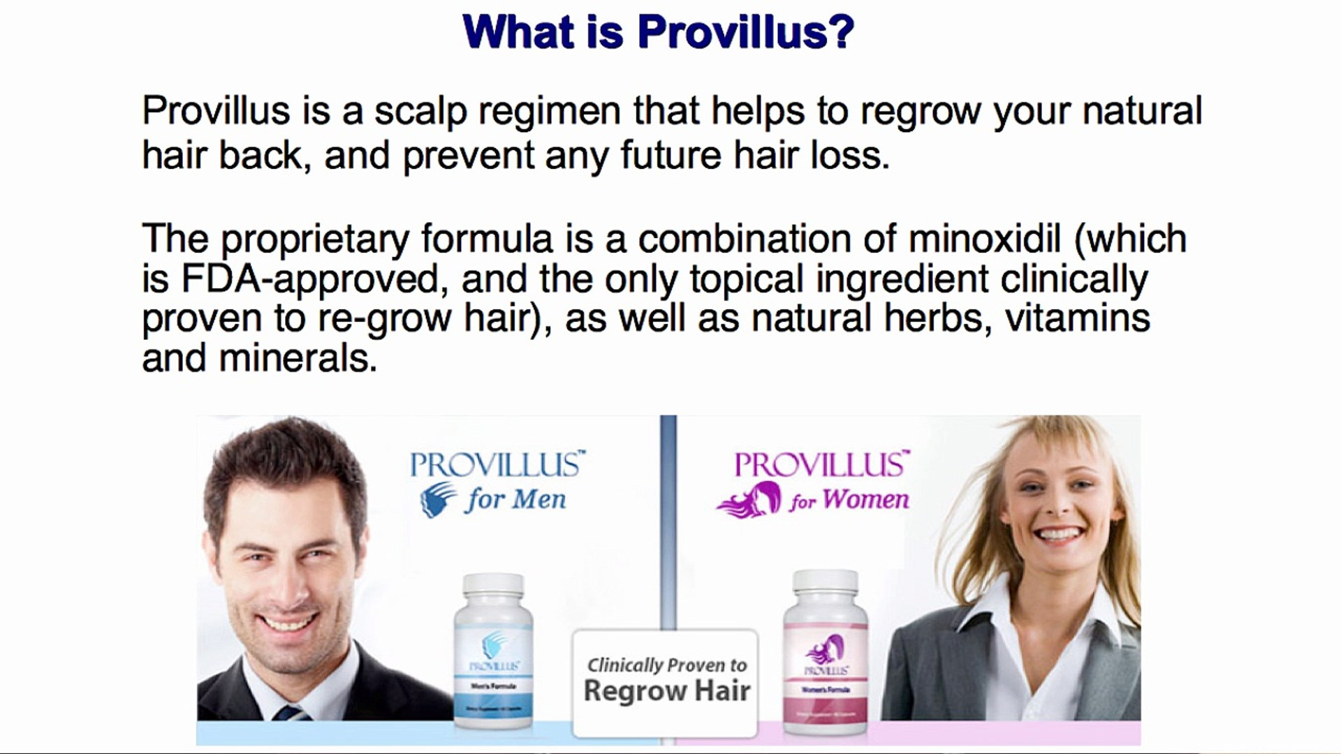Provillus For Sale Walmart Female Hair Loss Video Dailymotion