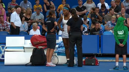 Serena injury blow ends USA Hopman hopes