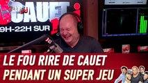 Le fou rire de Cauet pendant un Super Jeu - C'Cauet sur NRJ