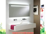 Astro 0762 T5 Flair 1250 Illuminated Mirror including 2 x 54 Watt T5 Tubes Mirrored