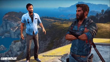 Just Cause 3 Walkthrough Part 15 ''The Watcher On The Wall'' Story Gameplay (PS4)