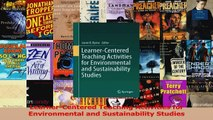 PDF Download  LearnerCentered Teaching Activities for Environmental and Sustainability Studies Read Full Ebook