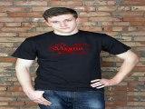 Популярный подарок на день рождения - Футболка мужская с вашим текстом Кровавая футболка в г. Набережные Челны