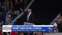 Donald Trump Suggests Similarities Between Bill Clinton And Bill Cosby