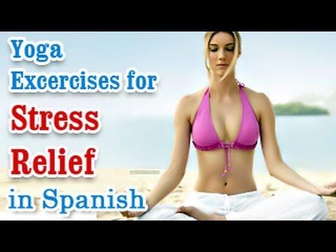 Ejercicios de yoga para aliviar el estrés | Yoga for Stress Relief | Relax Body, Yoga Meditation