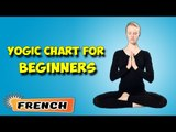Yoga pour les débutants complets | Yoga for Beginners | Yogic Chart & Benefits of Asana in French
