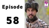 Dirilis Episode 58 Full on Hum Sitaray in High Quality