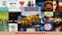 PDF Download  When Dinosaurs Roamed N J PDF Full Ebook