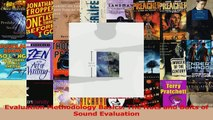PDF Download  Evaluation Methodology Basics The Nuts and Bolts of Sound Evaluation Read Online