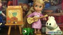 Poupées DSNY Princesses Animators Collection Dolls Play Doh Reine des Neiges Raiponce vi v