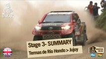 Stage 3 Summary - Car/Bike - (Termas Rio Hondo / Jujuy)