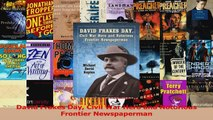 PDF Download  David Frakes Day Civil War Hero and Notorious Frontier Newspaperman Download Full Ebook