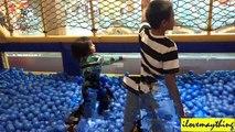 Fun Activity- Zipline over the Pool of Plastic Balls, Kiddie Slides, Kid's Playtime, etc...