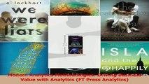 PDF Download  Modern Analytics Methodologies Driving Business Value with Analytics FT Press Analytics Read Full Ebook