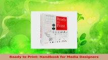 PDF Download] Ready to Print: Handbook for Media Designers