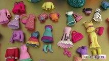 7 Poupées Princesses DSNY Magiclip Vêtements Polly Pockets Séance dessayage 2 ⓋⒾⒹéⓄ ⓋⒾⒹéⓄ