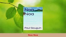 Download  Noa Noa PDF Free