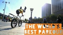 The World's Best Bike Parkour | Extreme Biking Parkour