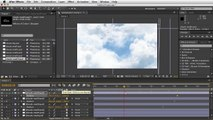 Adobe After Effects - Moving Clouds Tutorial - Demonstrations