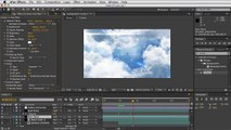 Adobe After Effects - Moving Clouds Tutorial - Final Preview