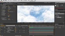Adobe After Effects - Moving Clouds Tutorial - Opacity Increase
