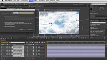 Adobe After Effects - Moving Clouds Tutorial - Pre Compose