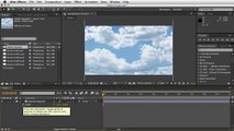 Adobe After Effects - Moving Clouds Tutorial - Resizing