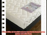 Happy Beds StressFree Spring Memory Foam Orthopaedic Mattress with Removable zip cover - Size:
